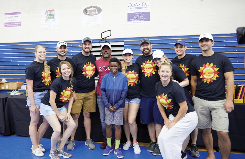 Hootie & the Blowfish have participated in Homegrown Roundup, an annual event that provides services like haircuts, dental exams, eye exams and school supplies for students from underserved Charleston County schools.