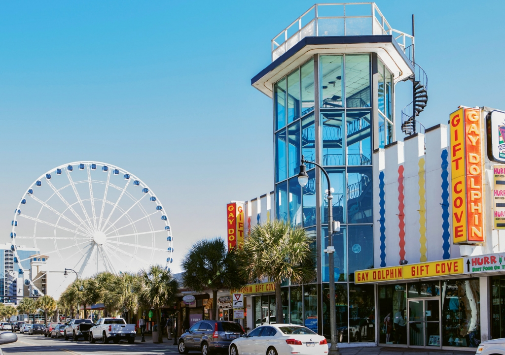 Steadfast in the ever-changing landscape of Myrtle Beach, the iconic Gay Dolphin Gift Cove has changed little since opening in 1946 and a rebuild after Hurricane Hazel in 1954.