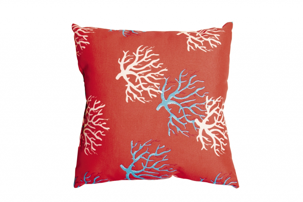 Billowing Pillows  Find a variety of outdoor pillows for every exterior or interior desire. We love this bright coral print. $17. curtains-n-things, 1014 third ave., Conway. (843) 248-5665