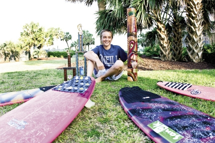 Addison Miles is well on his way to a professional surfing career. He's part of the ESA All Star team and in May won the ESA Mid-Atlantic regionals in Carolina Beach, N.C.
