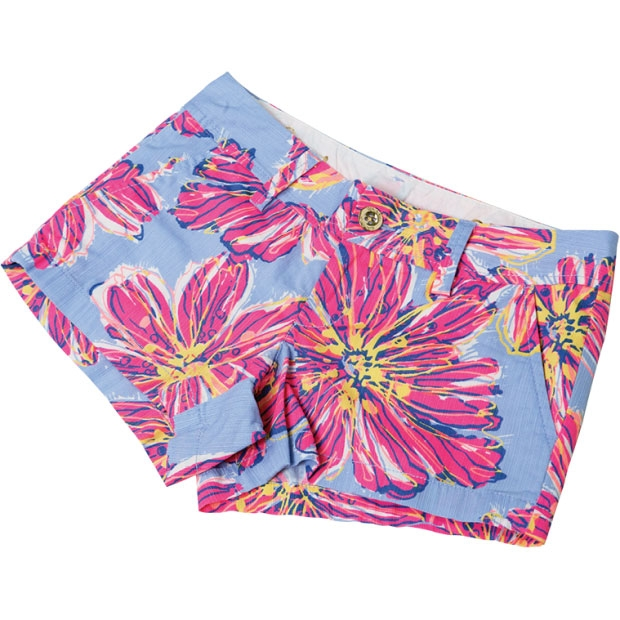 4. Get Shorty - Make sure to tan your gams for these bright lilac blossomed hot pants by Lilly Pulitzer.