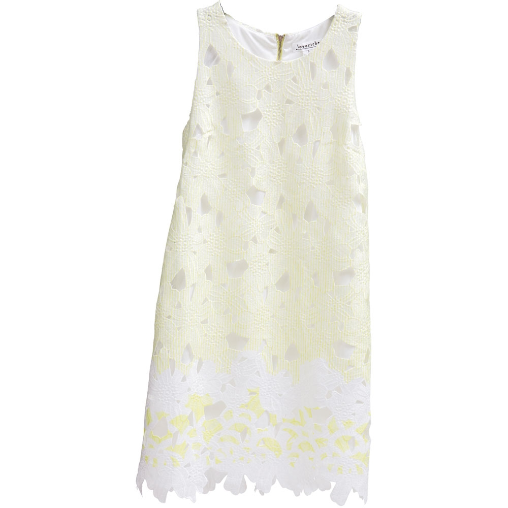 5. Flower Child - A perfect dress for either the Derby or a spring fête. Look lovely in this sorbet-hued shift by Love Riche.