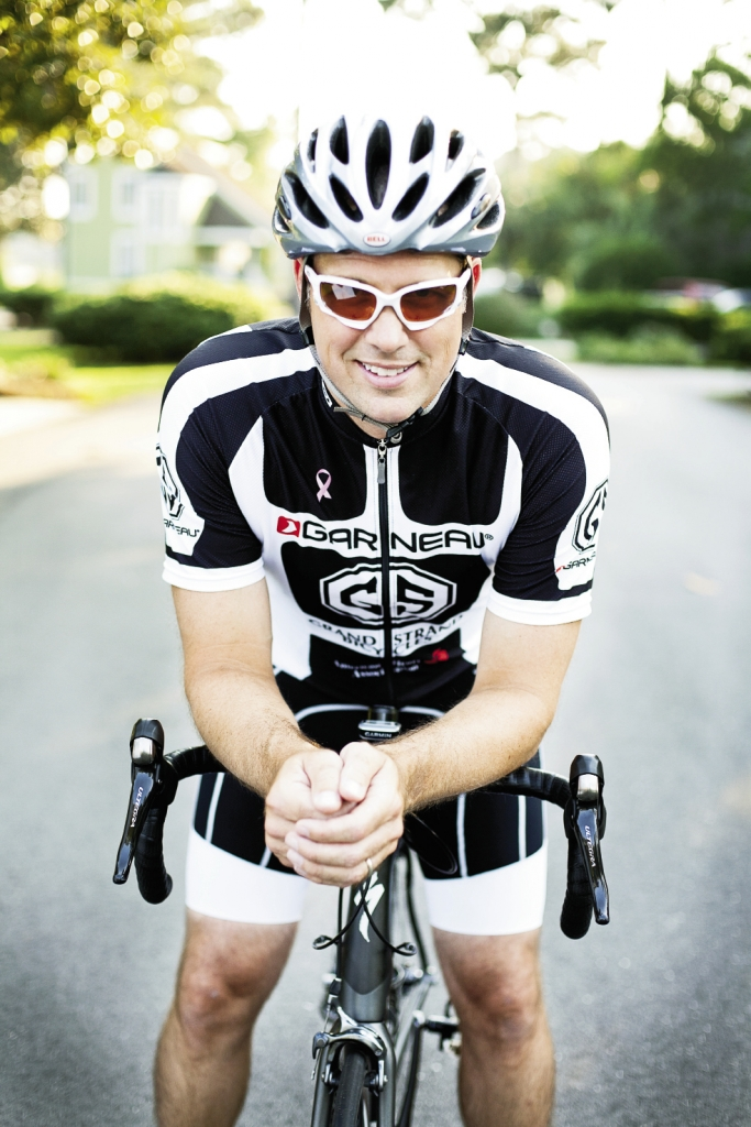 Riders represent all walks of life. Bobby Doty, president of the Grand Strand Cycling Club