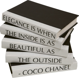 5. Elegance Is when the Inside is as Beautiful as the  Outside, BY Coco Chanel