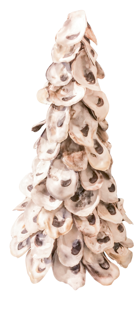 Holiday on the half shell - $37 (various sizes available). CHD Interiors, 1088 Mall Drive, Murrells Inlet. (843) 357-1700