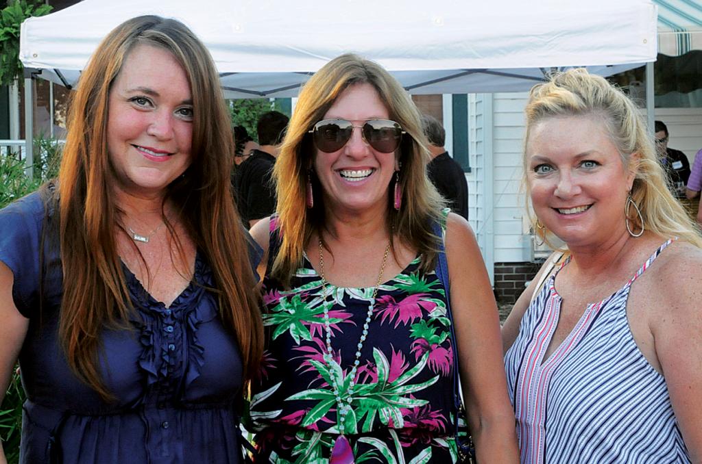 Tamara Warren, Lisa Hall and Jill Moore
