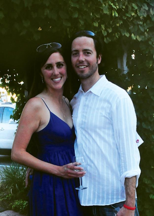 Emily Touloukian and Jeremy Kaelin