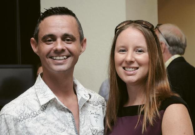 Jose Burgos and Nicole Truslow