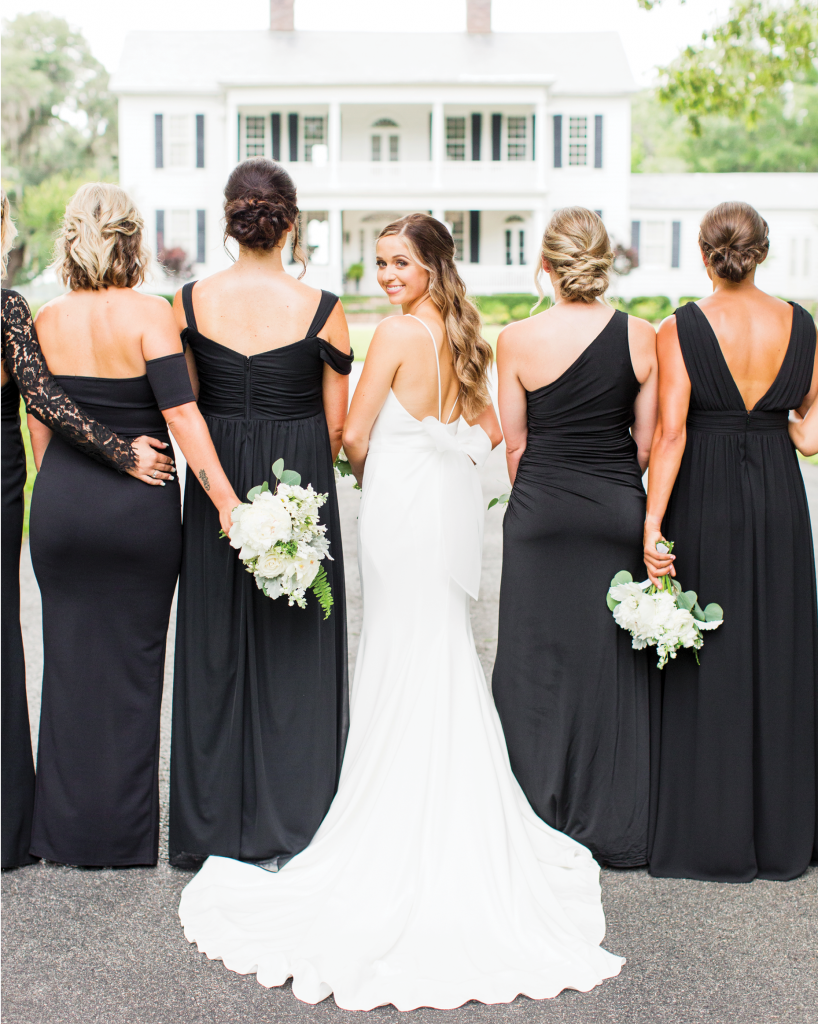 Jacquelyn & Jordan's moody summer wedding at Litchfield Plantation will have you swooning