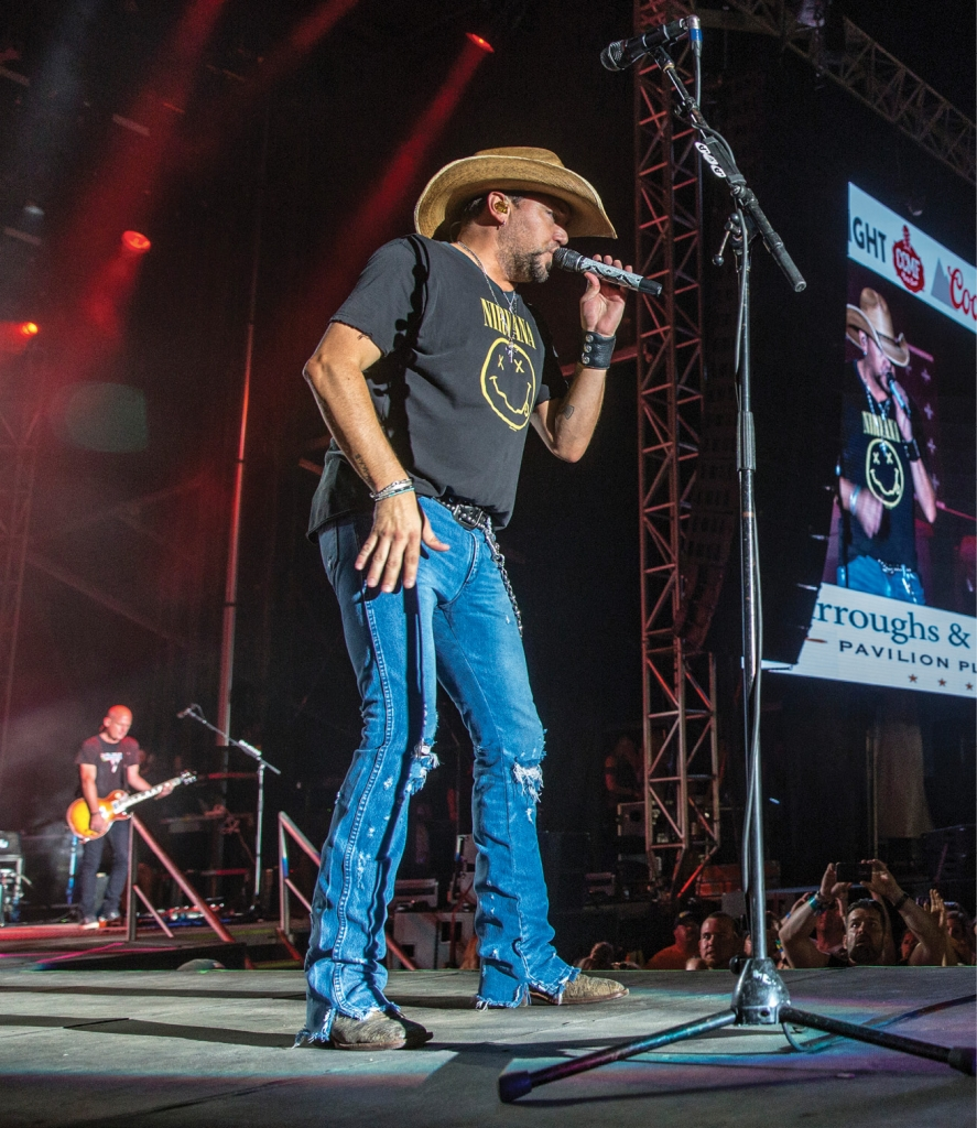 Jason Aldean closed out the 2017 Carolina Country Music Fest.