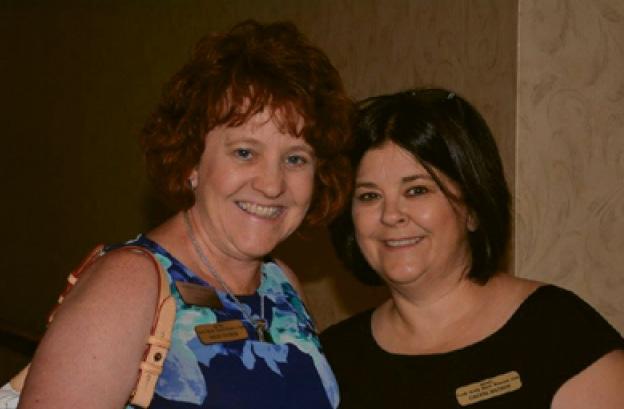 Juliet Casper and Cheryl Watson