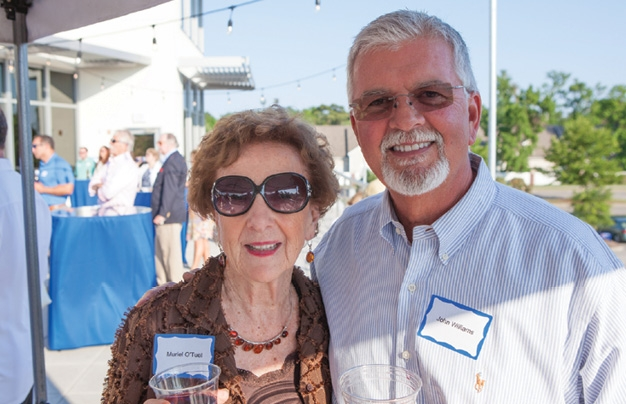 Muriel O'Tuel and John Williams