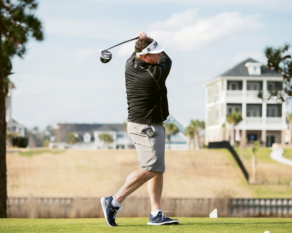 Rymer getting back on course at Myrtlewood Golf Club in Myrtle Beach