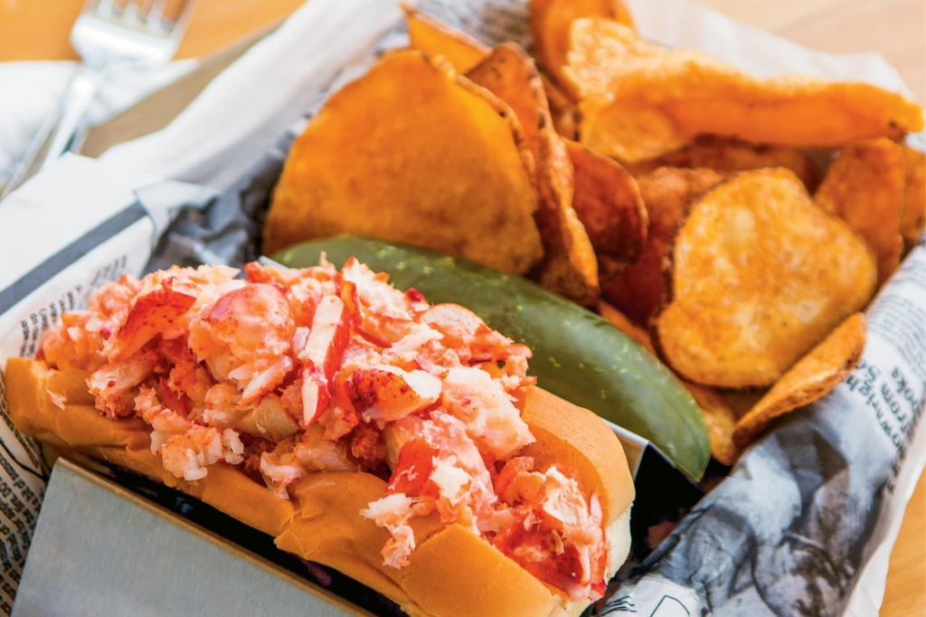 The Claw House lobster roll