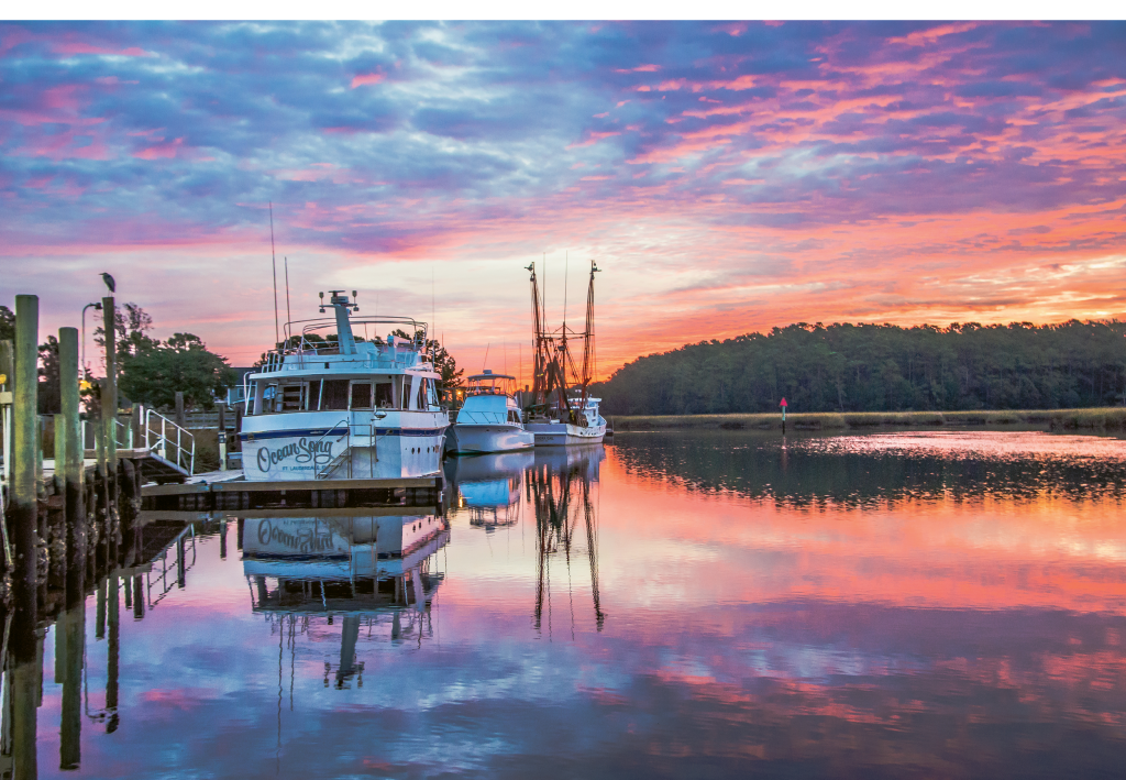 READERS' CHOICE AWARD WINNER  A beautiful Morning in Calabash  Photographer: Mark Head  Where: Calabash, North Carolina