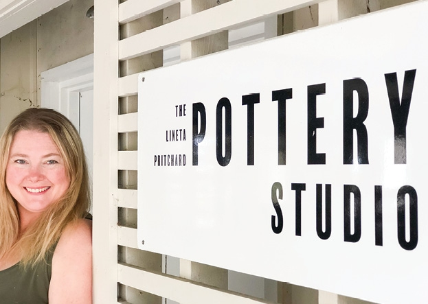 The pottery studio is the museum's newest program and has quickly become popular with local artists for its hands-on experience.