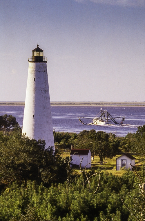 The lighthouse on North Island, East Bay Park and the Rice Museum are some of Georgetown's most picturesque vistas.