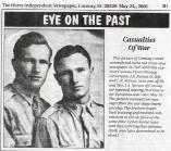 "Lt. James Arthur Norton Jr. AND Lt. Edward Robertson Norton, ""The Norton Twins"""