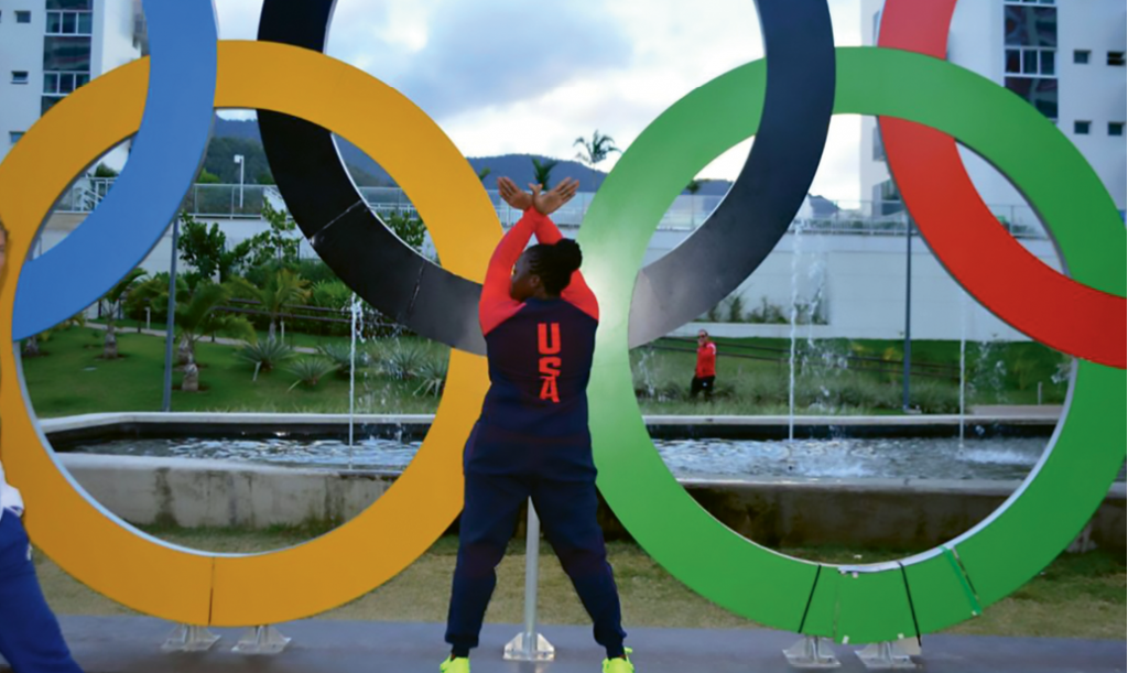 2016 Rio Olympics.