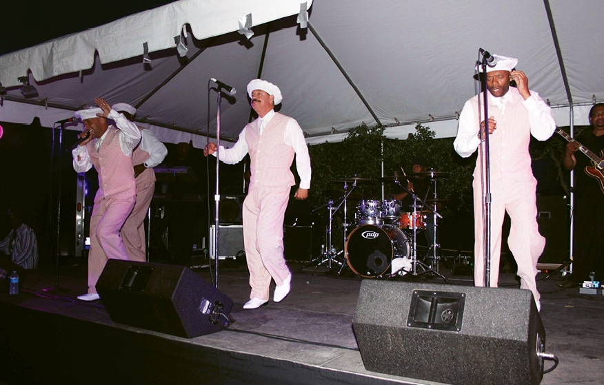 The Tams rocked the reunion in 2014. The Entertainers are scheduled to perform at this year's event.
