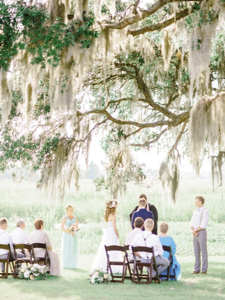 Lowcountry Meets Mother Russia:The Eastern European couple married classic traditions from their mother country with the sweet beauty of their new home in the American South.