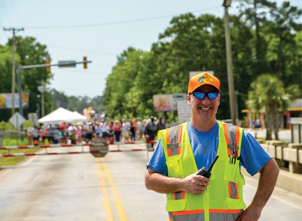 Fun and Festive: Spread throughout several blocks of Dick Pond Road on both sides of the swing bridge, the Socastee Heritage Festival unifies and celebrates the community.