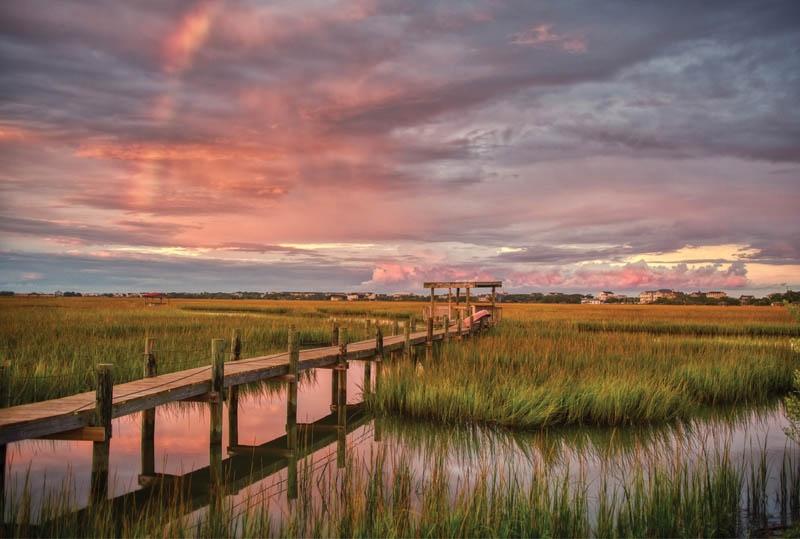 RAINBOW OVER MARSH - Christopher John, Pawleys Island