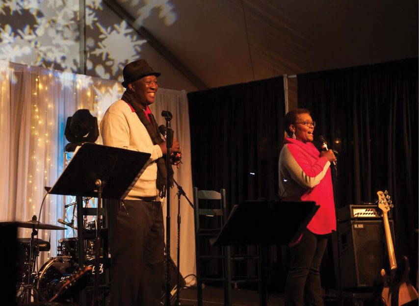 Ron and Natalie Daise regularly perform together at Brookgreen Gardens, but may be best known as the stars of Nickelodeon's children's program Gullah Gullah Island, which also starred both of their young children.
