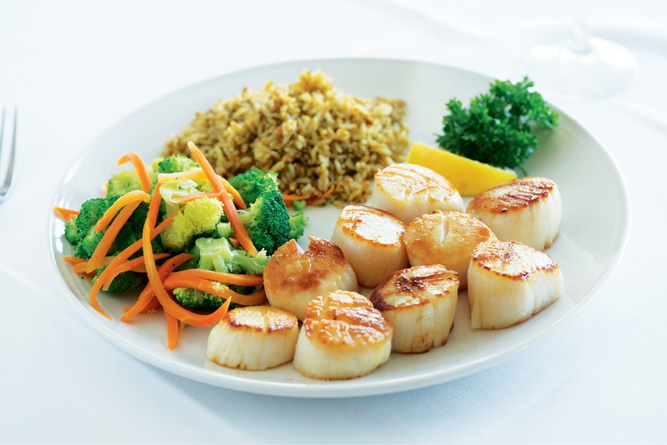 The Sea Captain's House scallops