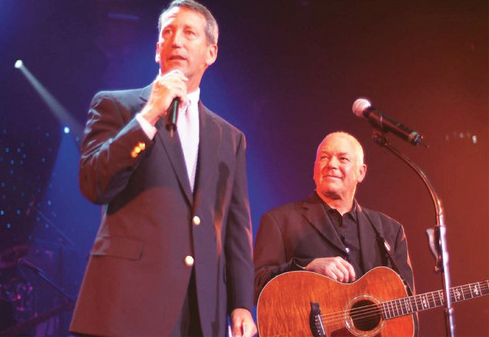 During The Carolina Opry's 20th anniversary celebration, then-governor Mark Sanford issued a proclamation declaring May 31 as Calvin Gilmore and The Carolina Opry Day.