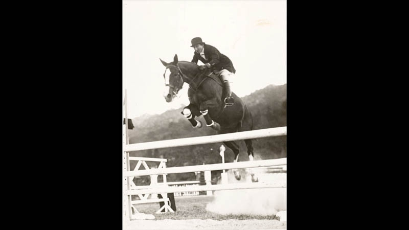 Belle was a world-class equestrian and her horse Souriant was a world-class champion.