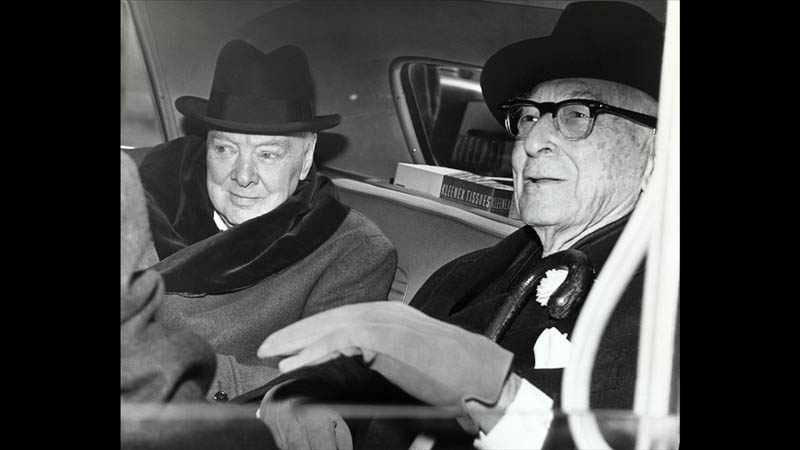 Baruch and Winston Churchill were very close friends.