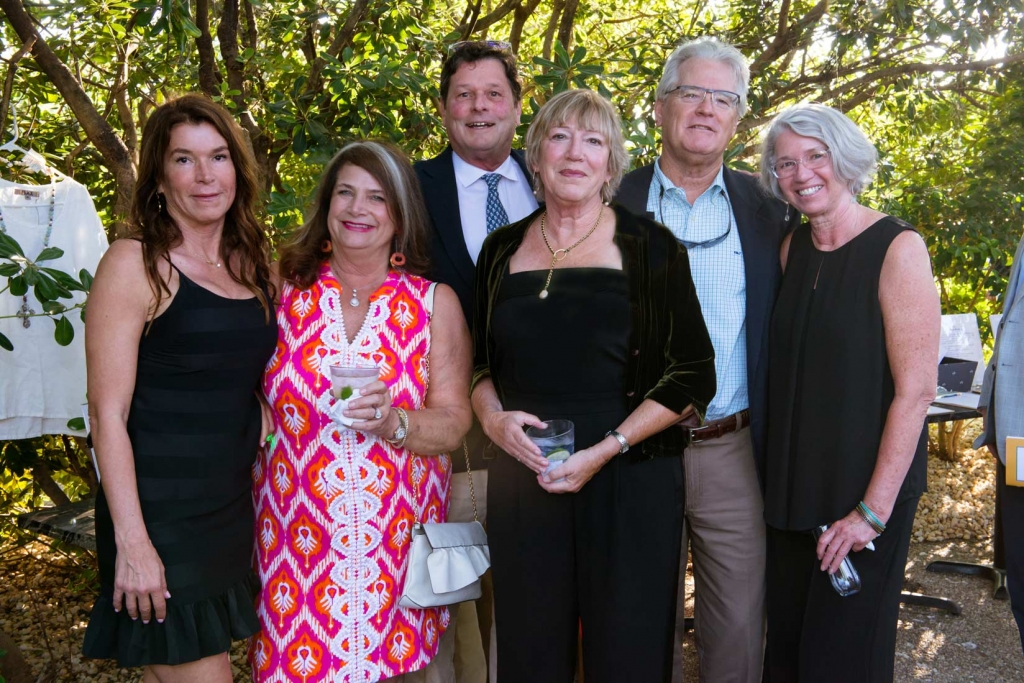 Anne Salley, Len Efird, Mary Prince, Alex Salle, Aaron Efird, and Darlene Adams