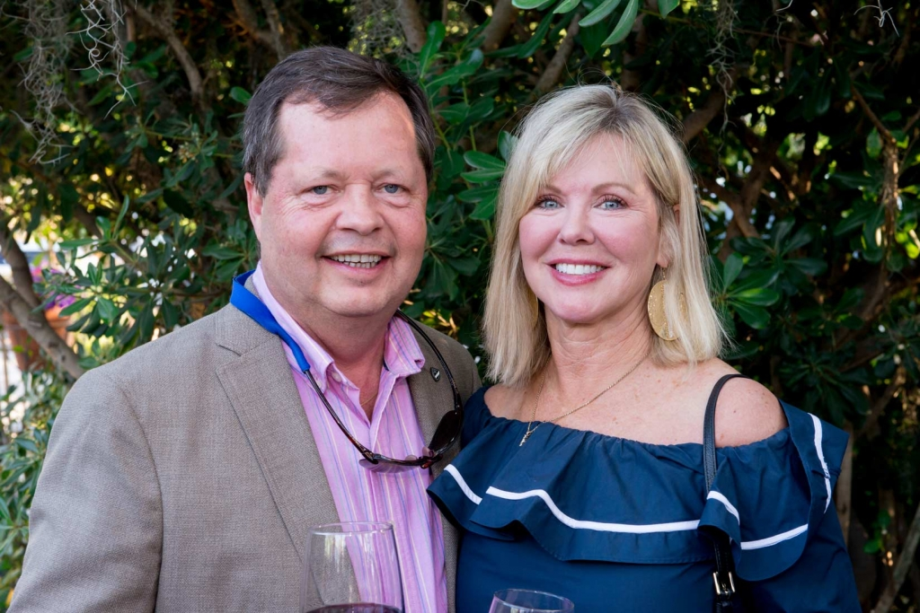 Rick Steighner and Pam Burnett