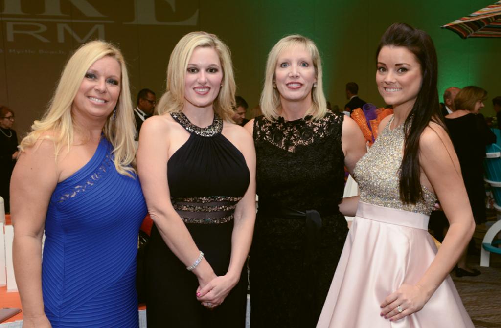 Leslie Balliette, Shay Boyd, Mary Margaret Hyatt and Courtney Coolahan