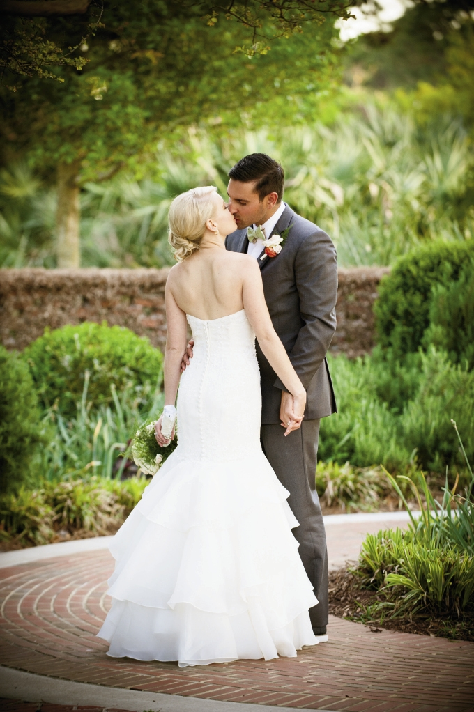 The couple chose Pine Lakes as a beautiful, Southern and classic venue to introduce their out-of-town guests to the Myrtle Beach area.