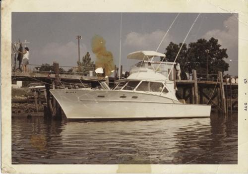 The Fitzgeralds' 38-foot Post sport fisherman.