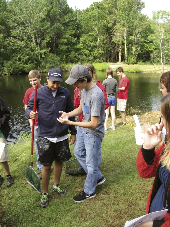 Students at The Georgetown School enjoy small classroom sizes, athletics and field trips to nearby Hobcaw Barony.