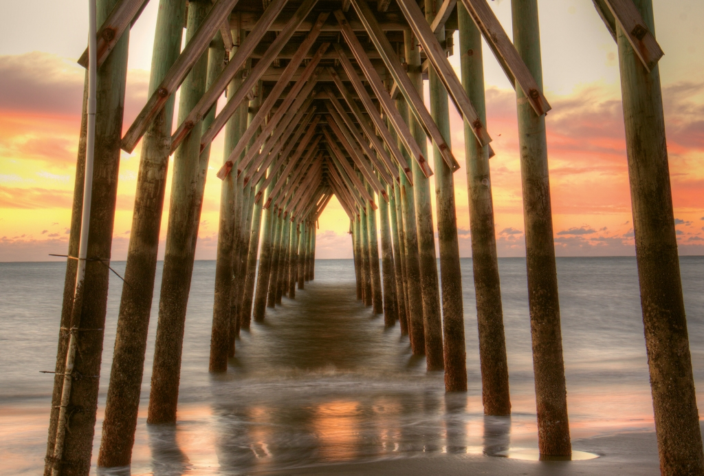 Tunnel Vision Photographer: Michelle D. Tinger Where: Sunset Beach, North Carolina