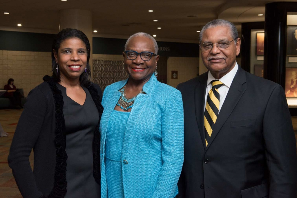 Marlo Frazier, Dr. Carrie Brown & Thomas Brown