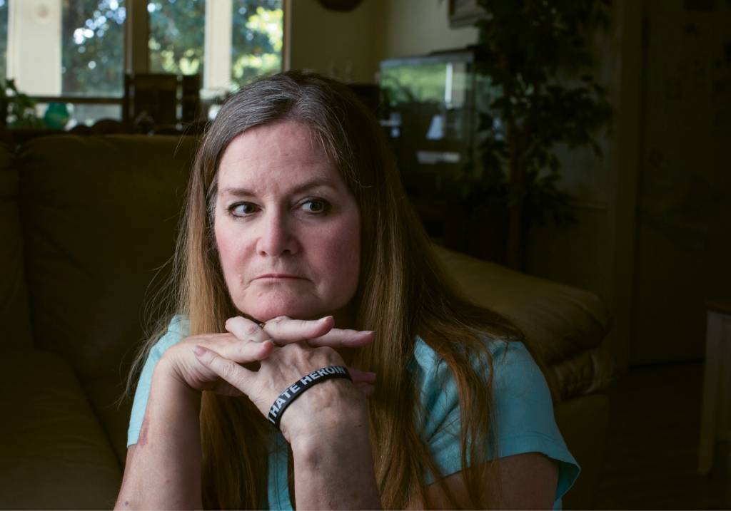 The Calm After the Storm: Janice Wright Collier remembers the days wondering why her son Joe Wright was spending enormous amounts of time in the bathroom, why he never had money and why she could never seem to find a spoon in her kitchen—he was using them for his habit. Joe is now off drugs and doing well and Janice works to support mothers who face similar situations.