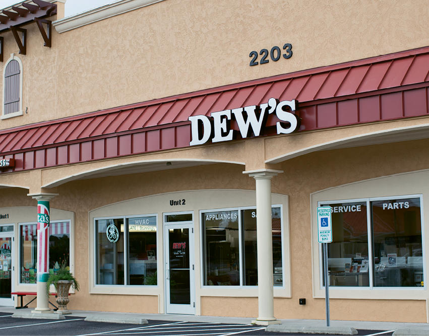 Today, Dew's is located at 2203 U.S. 17 S.