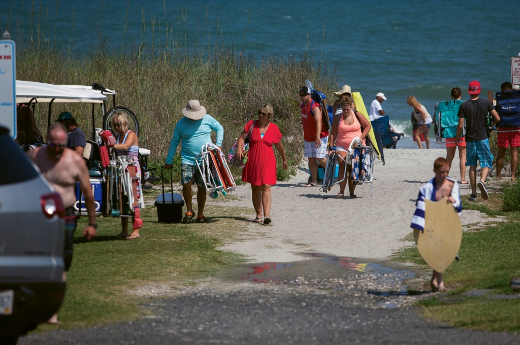 Free access to the beach for non-residents is now a thing of the past. Violators of new parking restrictions will see their cars ticketed or possibly towed.