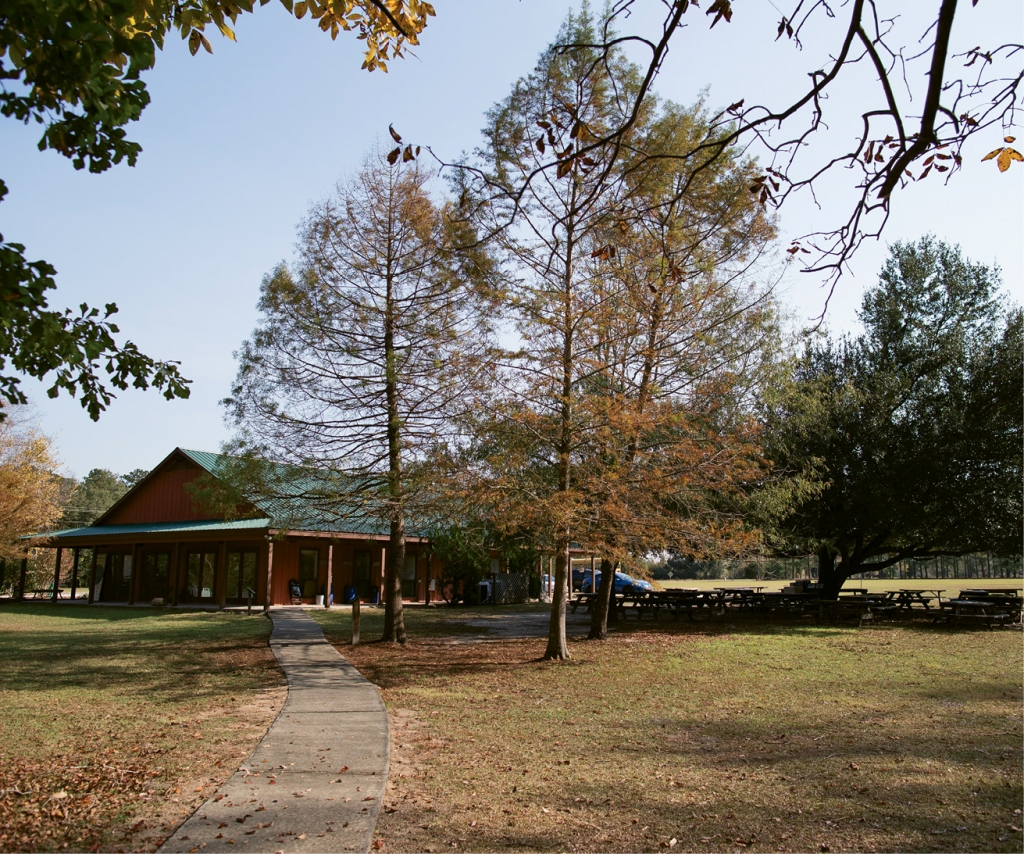 The education center itself sits on more than 200 acres in the northwestern part of Horry County. Playcard delivers outdoor education and team-building five days a week to area schools.