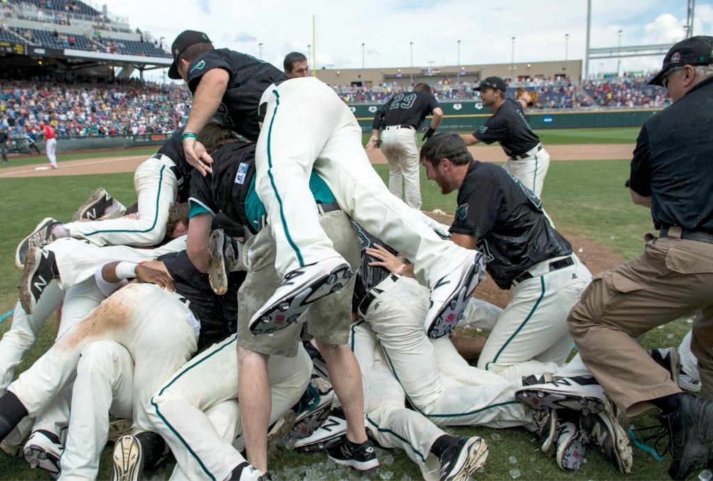2016 NCCA Baseball National Champions the Coastal Carolina Chanticleers.