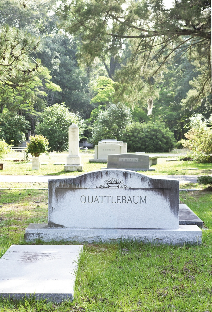 Rest In Peace: C.P. Quattlebaum was instrumental in the building of the courthouse square.