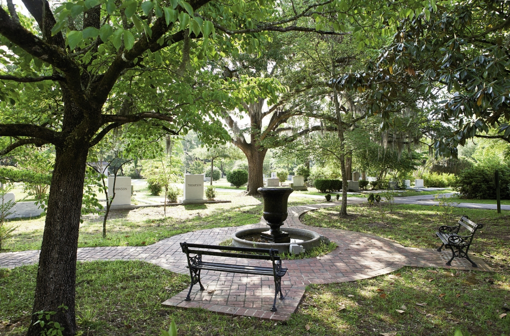 Eternal Peace: The beautiful grounds of Lakeside Cemetery are especially breathtaking in spring, with hundreds of flowers in bloom.