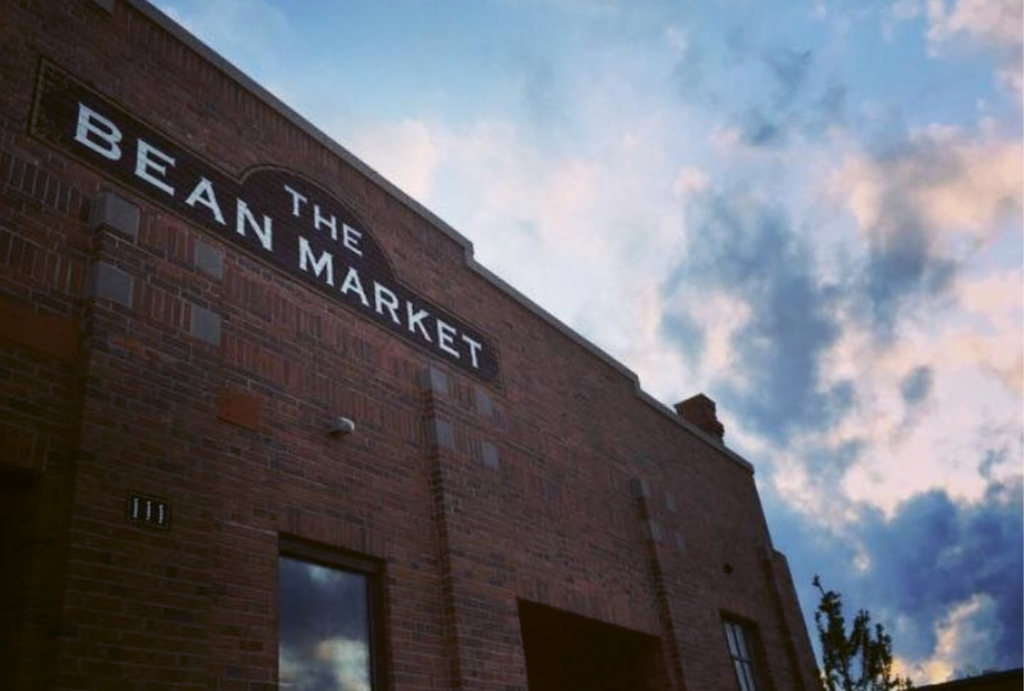 The Creative Alliance enlists the refurbished historic Lake City Bean Market as a gallery.