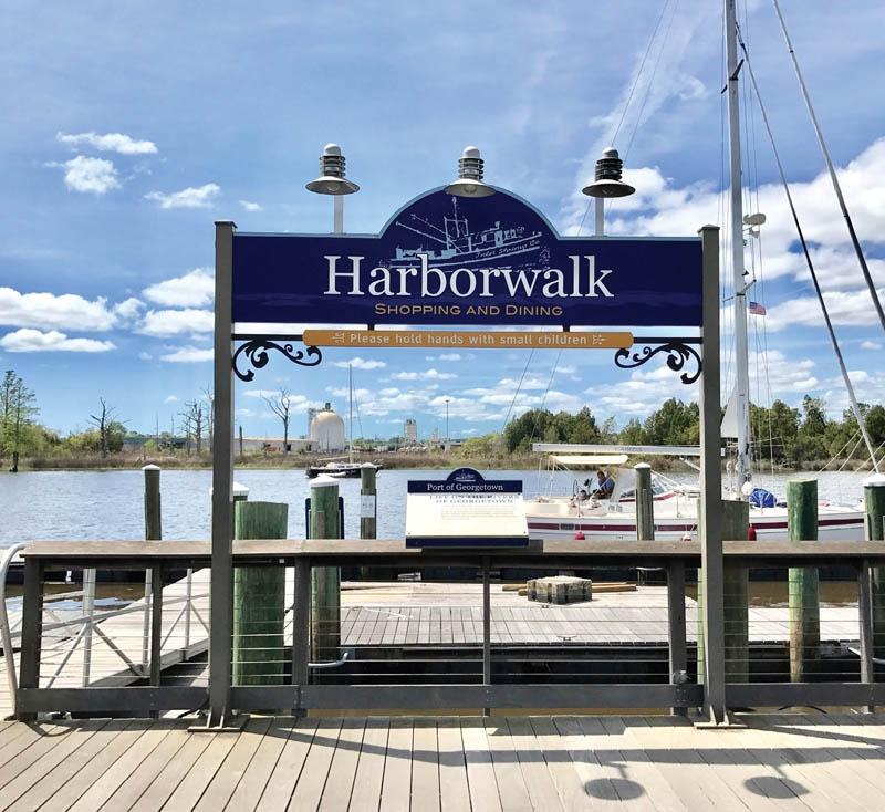 The Harborwalk of Georgetown