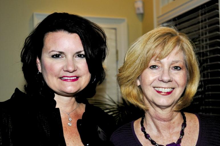 Melanie Hellmer and Carolyn Pittman